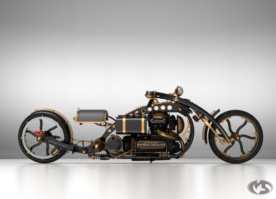 Steampunk Moto Grande