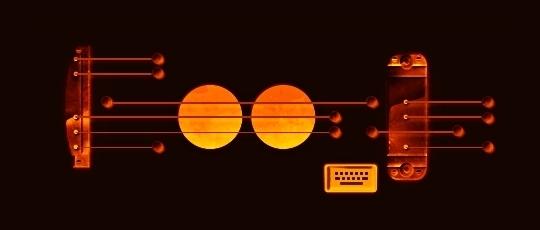 Guitarra interativa do Google salva
