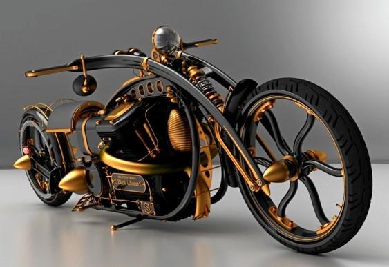 Projeto Moto Steampunk