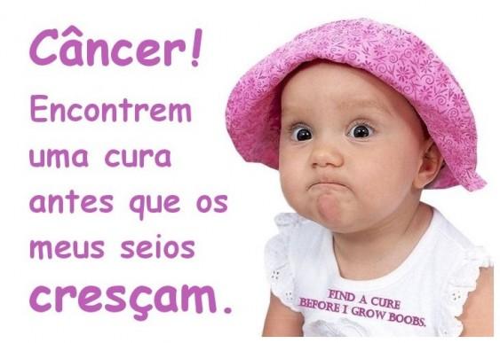 Menina - campanha câncer de mama