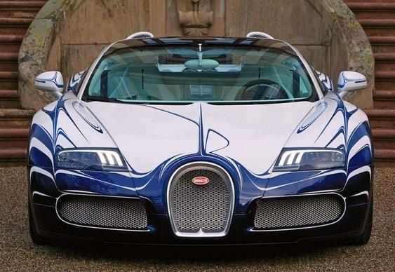 Bugatti conversível L'Or Blanc