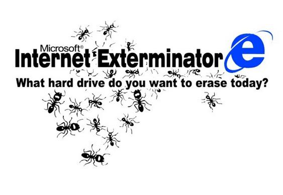 Internet Explorer = QI baixo