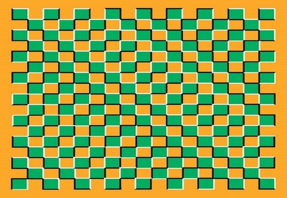 Xadrez - Ilusão de ótica