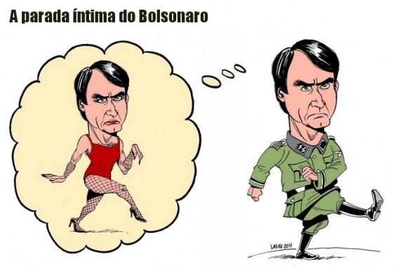 Charge - Jair Bolsonaro