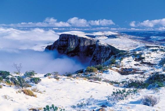 Neve em Urubici - Inverno