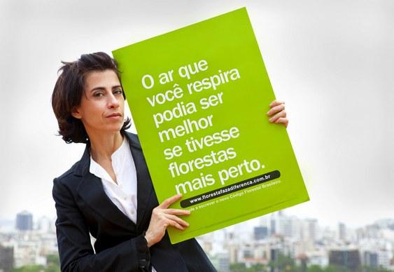 Campanha em defesa do meio ambiente