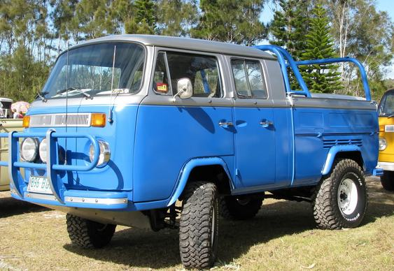 Kombi VW cabine dupla Off Road