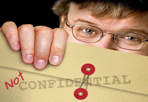 Cineasta e ativista Michael Moore