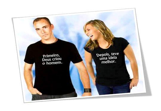 E Deus criou Adão e Eva - Humor