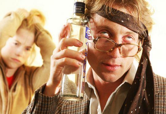 Anedota - seminário sobre efeito do álcool no organismo