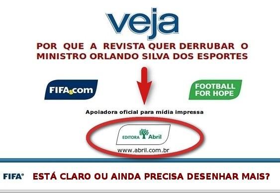 Veja usa esporte para derrubar Dilma
