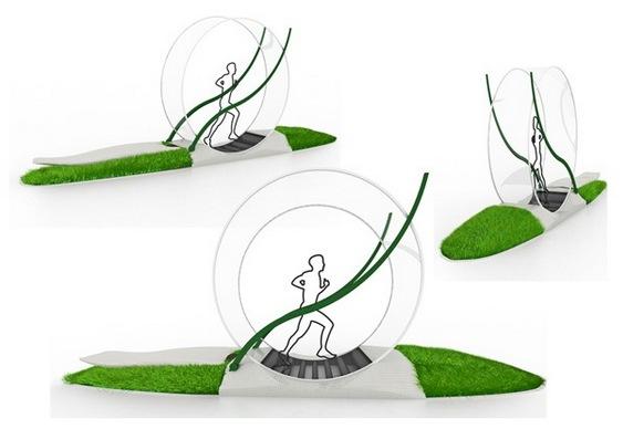 Green Wheel - Roda geradora de eletricidade