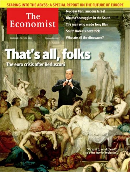 Silvio Berlusconi - fim da orgia política