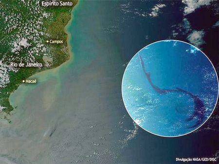 Imagem de satélite da Nasa
