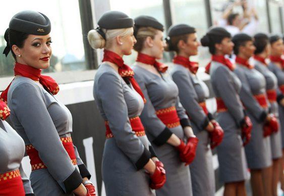 Garotas do Grid - Aeromoças da Etihad