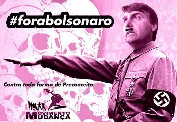 Jair Bolsonaro - bicha nazista