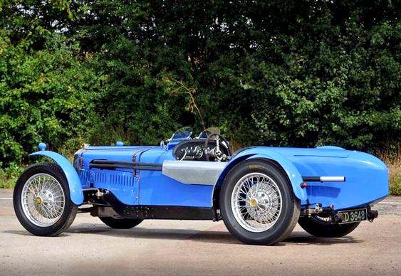 Modelo de automóvel antigo