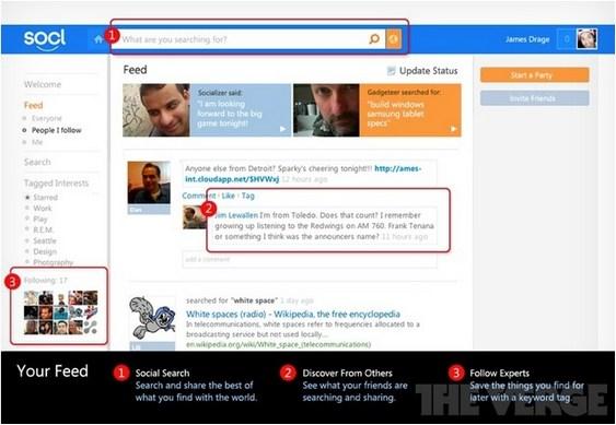 Socl - nova rede social da Microsoft