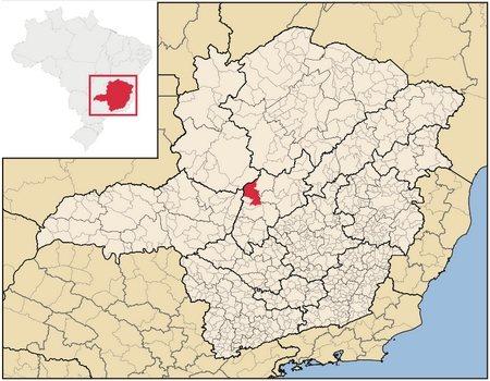 Localização de Morada Nova de Minas