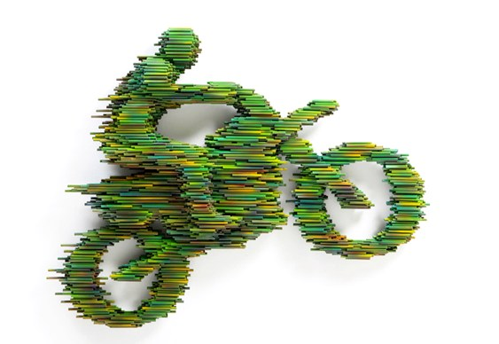 Moto - tubos PVC