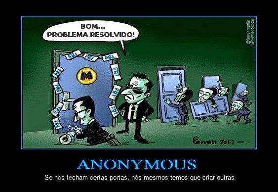Anonymous X FBI pelo Megaupload