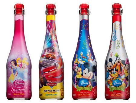 Disney Spunch champanhe infantil