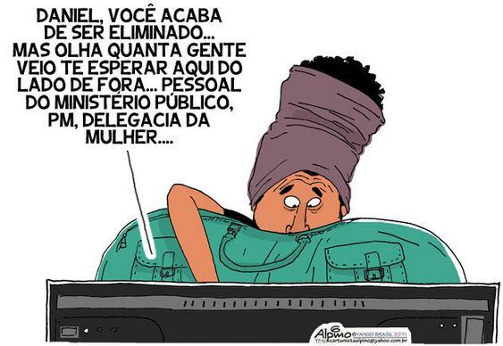 Charge BBB 12 - Big Brother Brasil