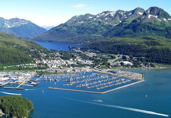 Cordova - cidade do Alaska