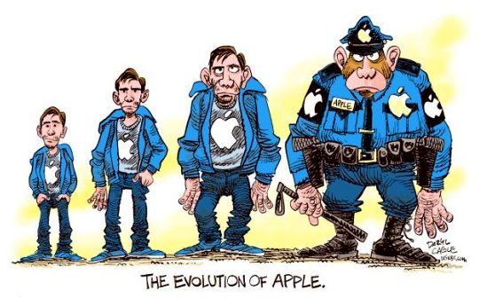 Apple apoia a SOPA