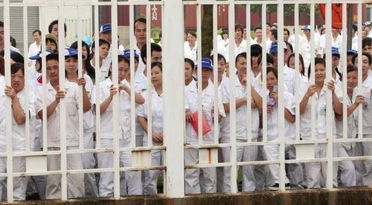 Condições de trabalho na China