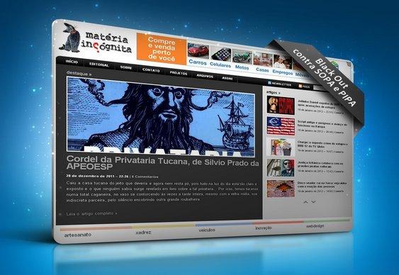 SOPA e PIPA - Matéria Incógnita