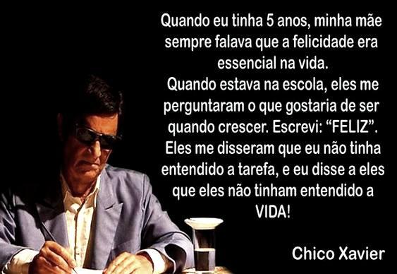 Lições de Chico Xavier