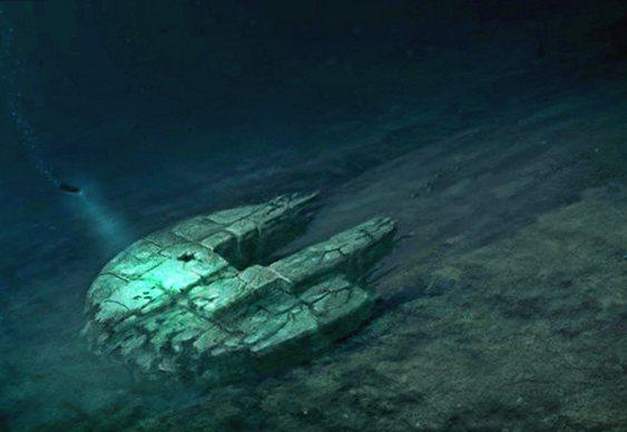 OVNI no fundo do Mar Báltico