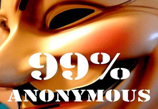 Máscara do Anonymous