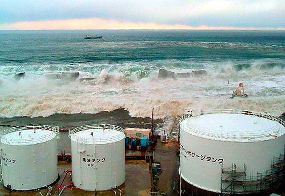 Tsunami Usina Nuclear Japão