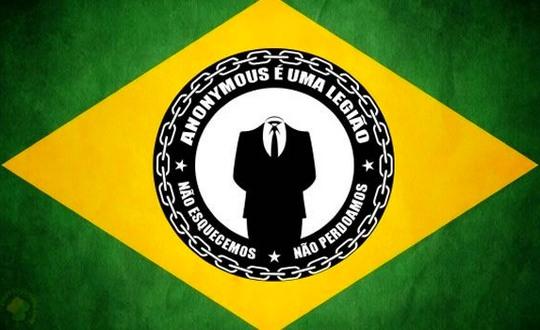 Anonymous Bandeira do Brasil