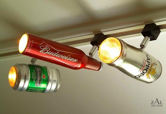 Iluminação de bar