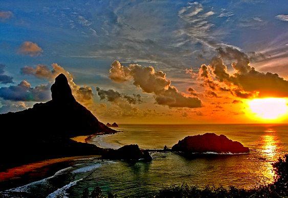 Por do Sol - Fernando de Noronha