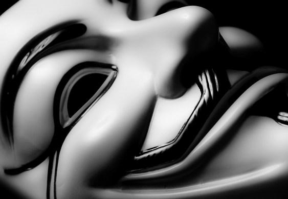Anonymous - máscara de Guy Fawkes