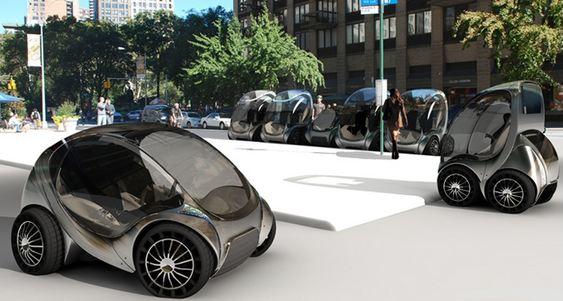 CityCar - carro dobrável