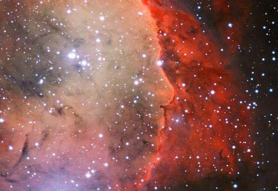 NGC 3324 - Nebulosa Alfred Hitchcock