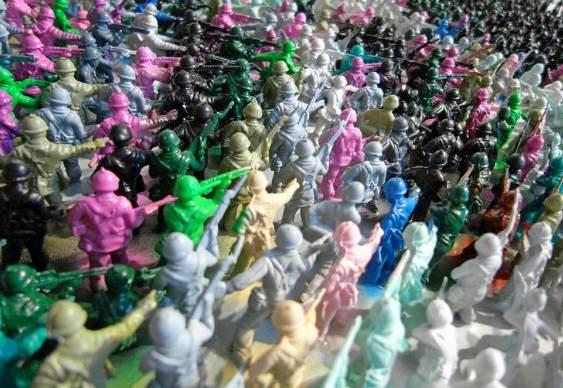 Miniaturas de soldados