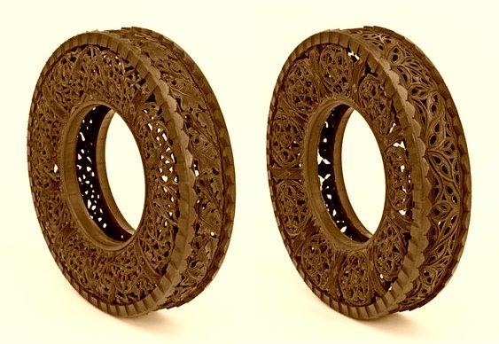 Reciclagem de pneus velhos