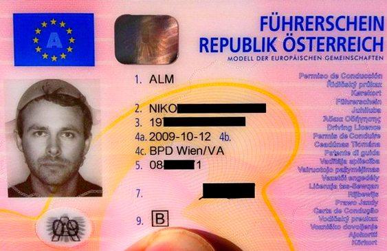 Foto para carteira de motorista