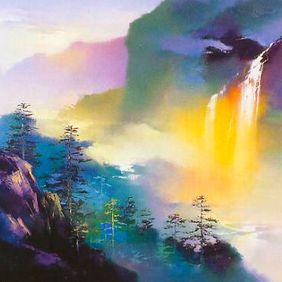 Obra de arte - pintura chinesa