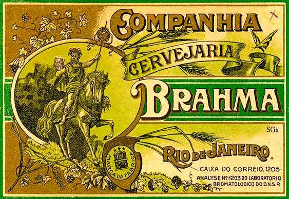 Brahma - rótulo antigo
