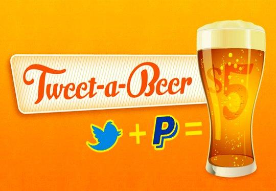 Cerveja via Twitter