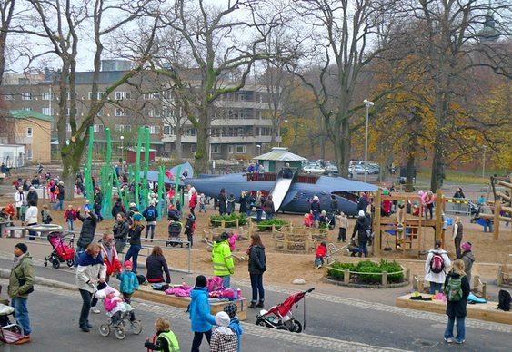 Praça - tema ecológico