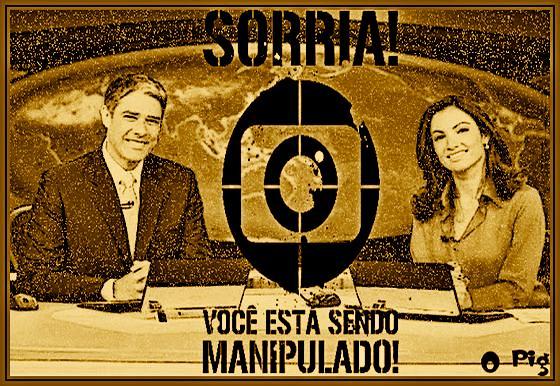 Jornal Nacional e Veja - Cachoeira