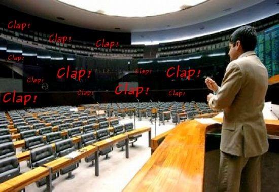 Plenário da Câmara em Brasília
